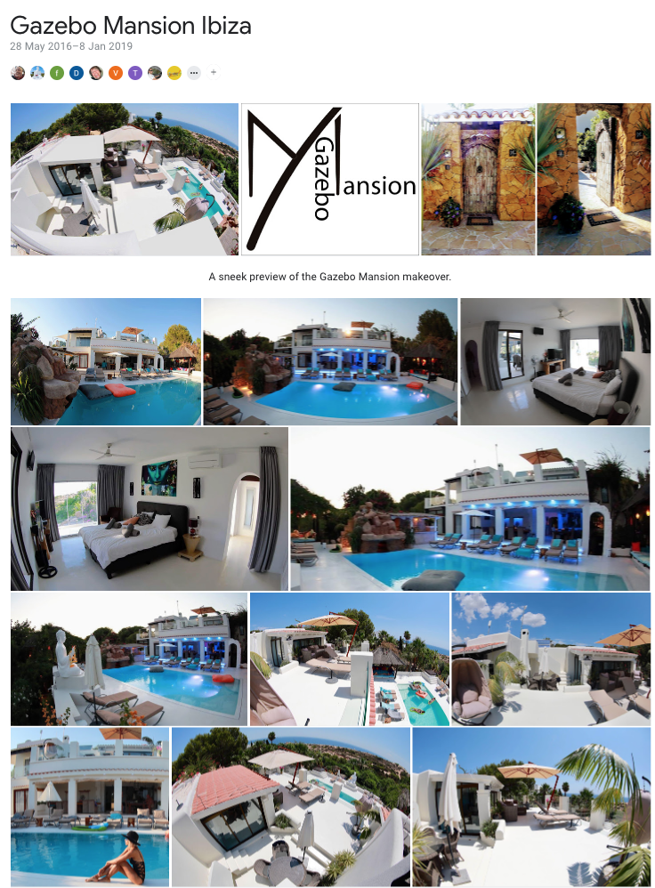 Gazebo Mansion Ibiza on Google photo